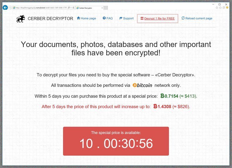 Cryptography and Ransomware