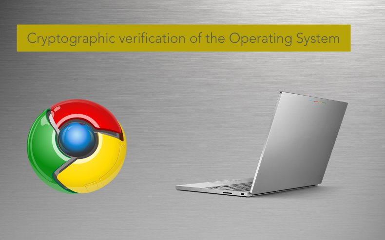 chromeos Cryptographic verification