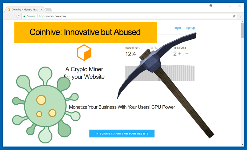 coinhive innovative but abused