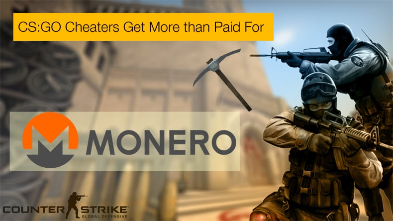 cs:go cheats monero miner
