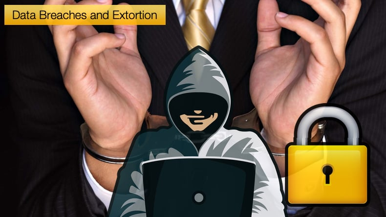 data breaches and extortion
