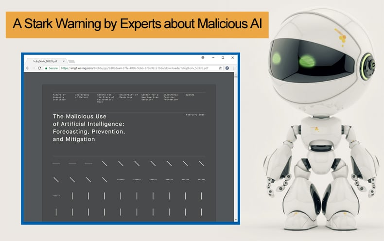 experts warn about malicious ai