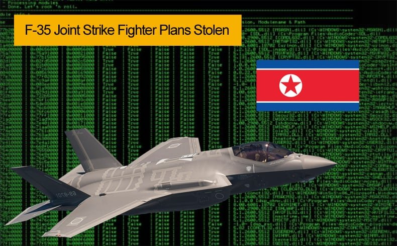 f35 joint strike fighter plans stolen