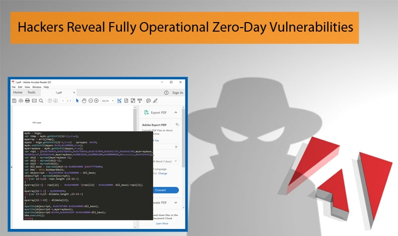 hackers reveal zero day exploits