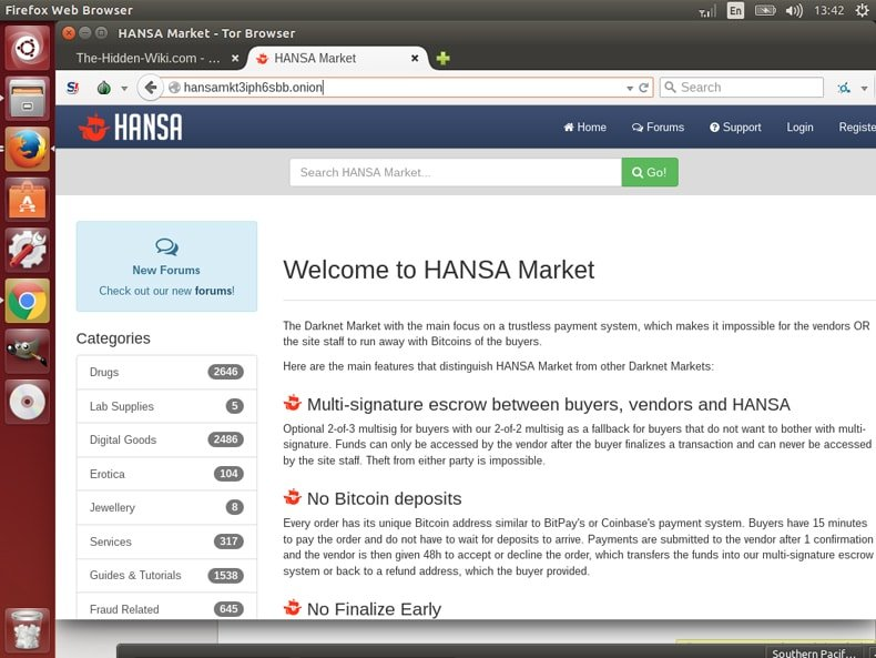 hansa marketplace