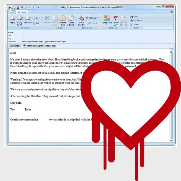 heartbleed removal scam email