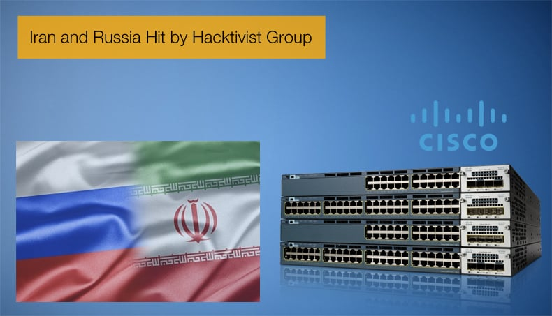 iran and russia hit by hacktivist group