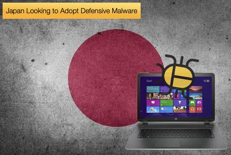 japan looking to adopt defensive malware
