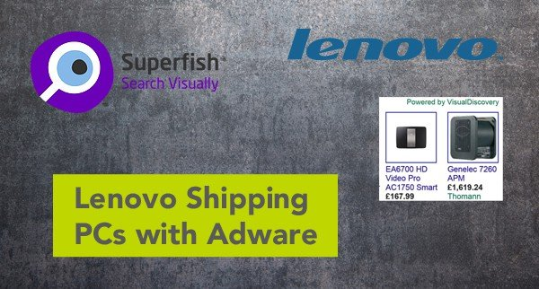 Lenovo Shipping PCs with Adware Pre-Installed