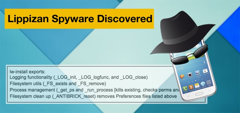 lippizan spyware discovered