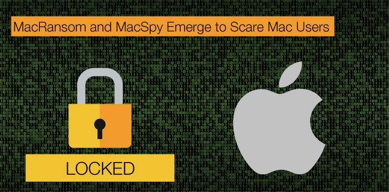 macransom and macspy ransomware/spyware for Mac computers
