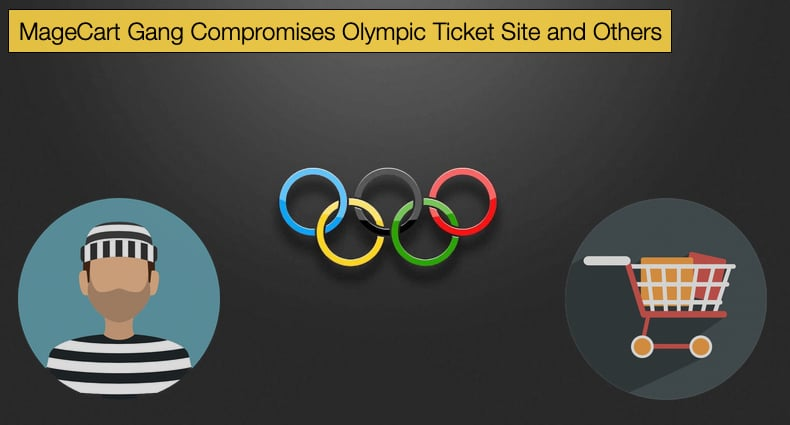 magecart gang olympic ticket compromise