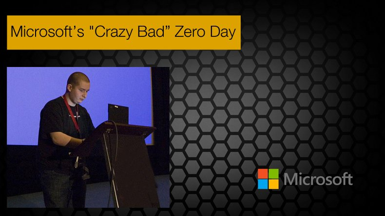 microsoft's crazy bad zero day