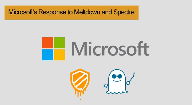 microsoft's response to meltdown and spectre