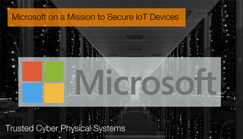 microsoft to secure iot devices
