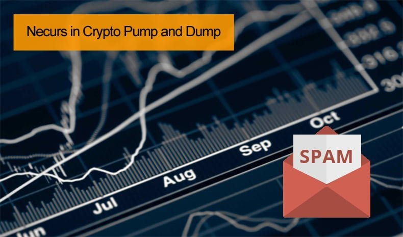 necurs crypto pump and dump