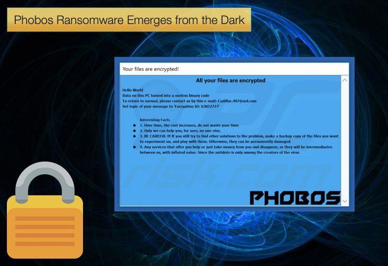 phobos ransomware emerges from the dark
