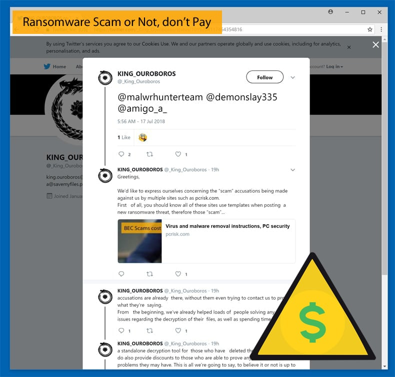 ransomware don't pay