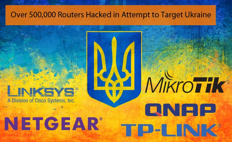 routers hacked to target ukraine