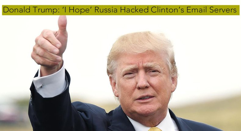 Russians Hack the American Presidential Campaign 2