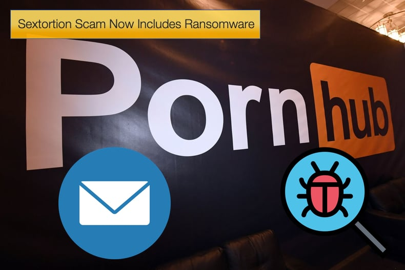 sextortion emails with ransomware
