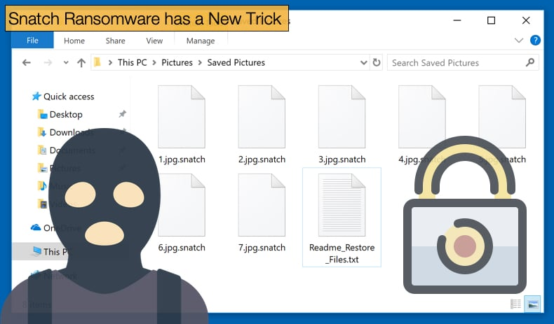 snatch ransomware safemode trick