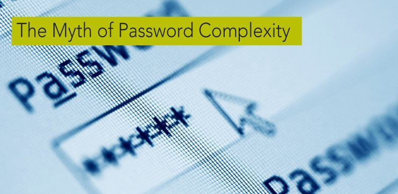 the myth of password complexity