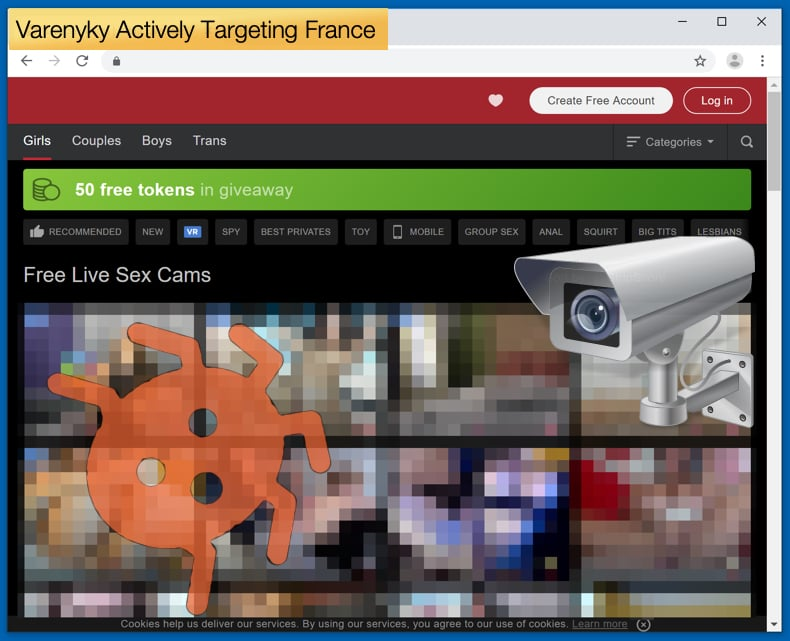 varenyky trojan targeting users from france