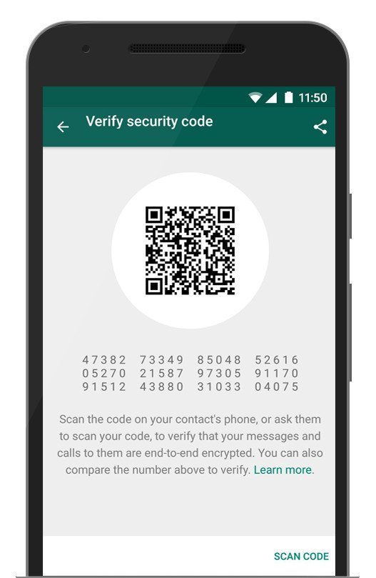 whatsapp code verification