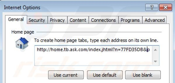 Mindspark toolbar removal from Intenret Explorer homepage