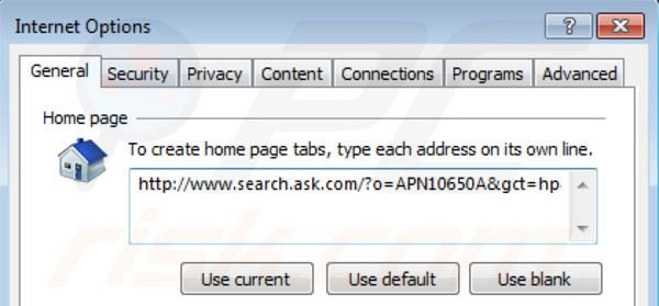 Removing Music toolbar from Internet Explorer homepage