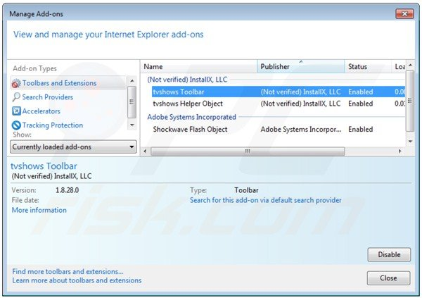 how to get toolbar back on internet explorer