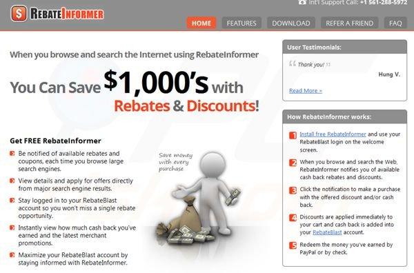 What is Rebate Informer?
