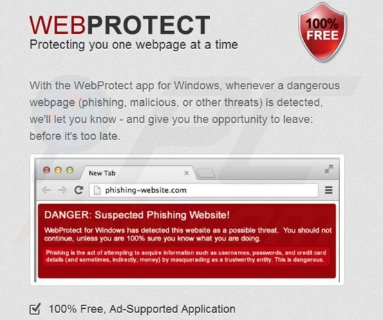 Web Protect virus