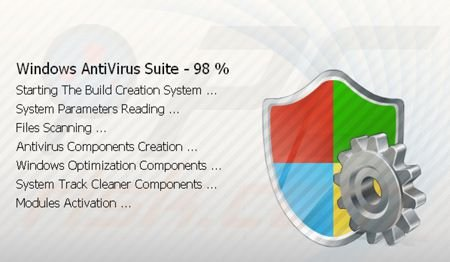 Windows Antivirus Suite installing on victims computer