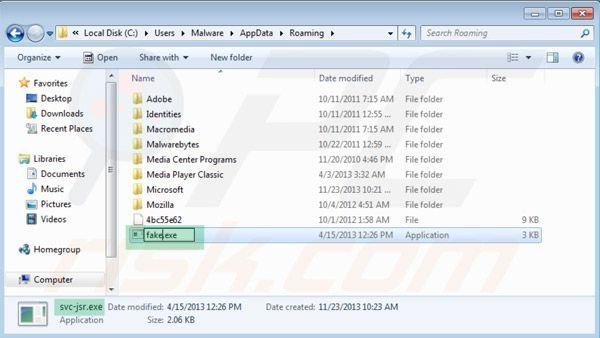 Windows Prime Shield renaming executable step 2