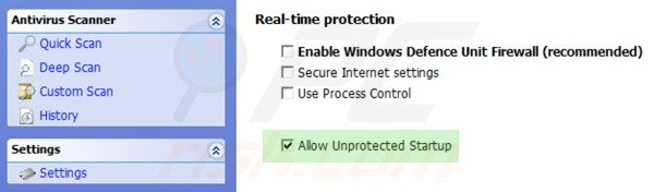 windows pro defence kit unprotected startup