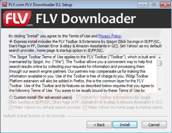 flv toolbar installer