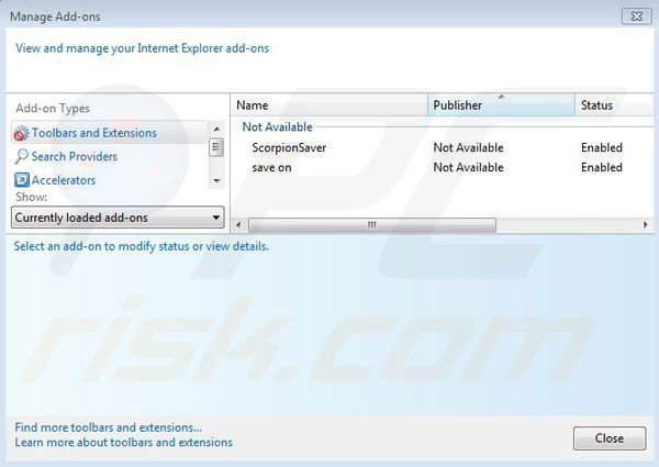 Coupon downloader removal tool