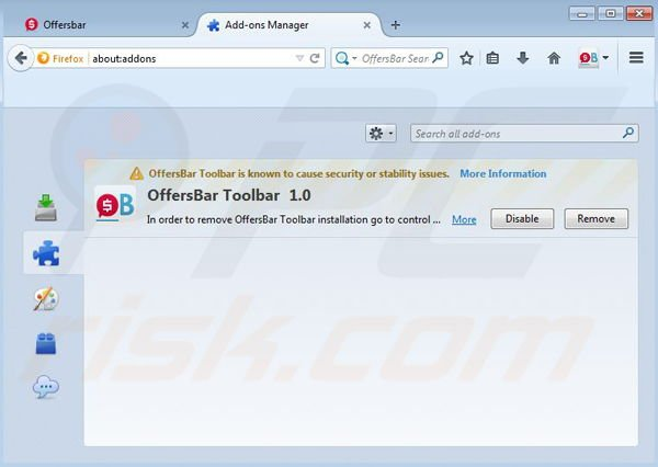 how to get rid of mozilla update browser hijacker