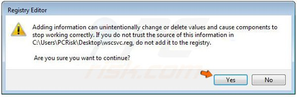 Windows Vista braviax/fakerean registry fix