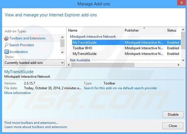 how to remove my start toolbar