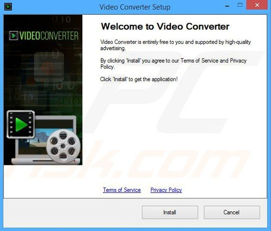 Installer used in Video Converter distribution