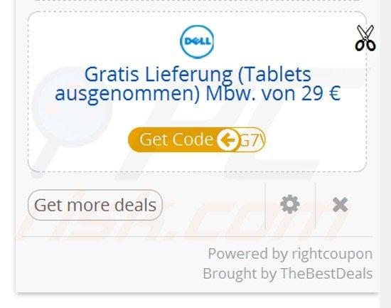 Firefox coupon companion