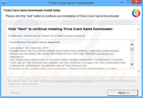 How To Uninstall Ads By Crossbrowse - Virus Removal Instructions