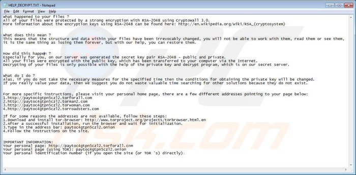 help_decrypt removal windows 7