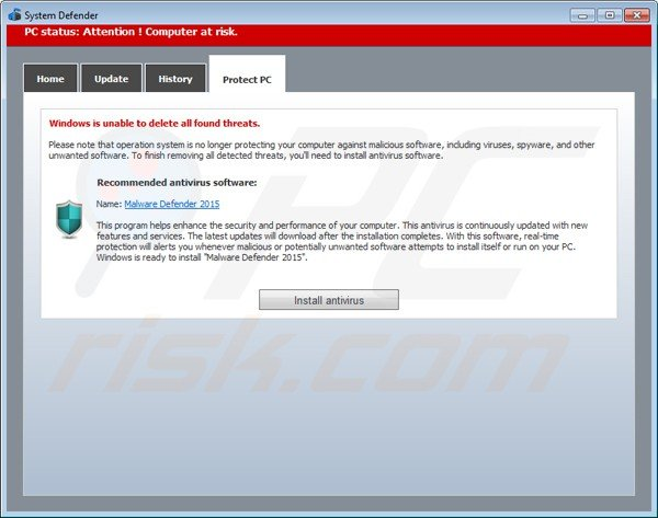 Anti Virus  for PCs Windows removes Malware,Spyware,Antivirus Software