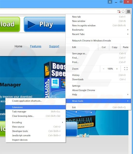 How to uninstall Premium Download Manager Adware - virus