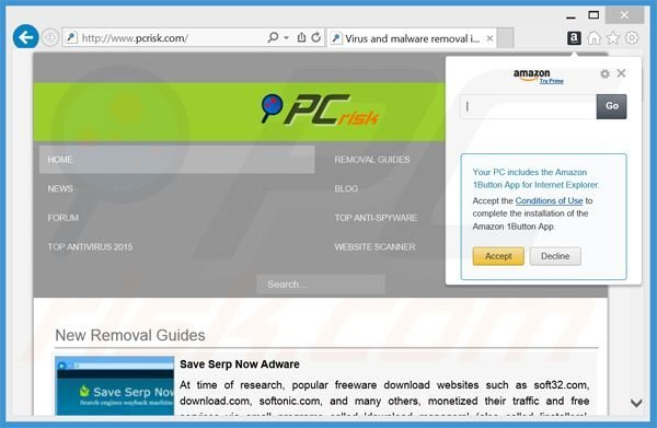 How To Uninstall Amazon 1button App Unwanted Application Virus Removal Instructions Updated