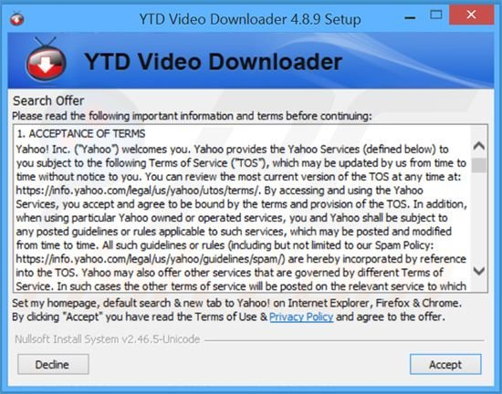Video downloader professional virus remover